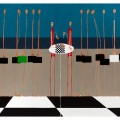i portaborse  100x150  acrilico  2012